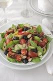 Salad of summer vegetables Stock Images