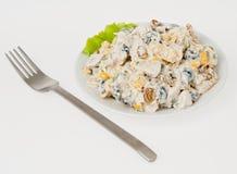 Salad sweet Stock Image
