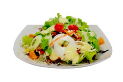 Salad 05. Thai style salad with egg, tomato, and mayonnaise Royalty Free Stock Photo