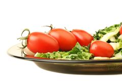 Salad tomato Royalty Free Stock Images