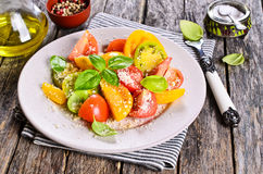 Salad of tomato Stock Images
