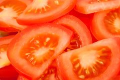 Salad from tomato Royalty Free Stock Photography