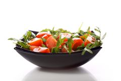 Salad -  tomatoes Royalty Free Stock Images
