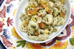 Salad of Tortellini Stock Photos