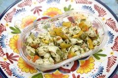 Salad of Tortellini Stock Photography