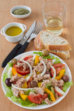 Salad with tuna Royalty Free Stock Photography
