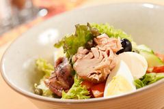 Salad with tuna Royalty Free Stock Photo