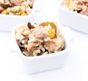 Salad of tuna Stock Photography