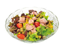 Salad with tuna Stock Photography