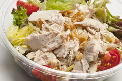 Salad with tuna. Close-up of fresh salad with tuna Stock Image