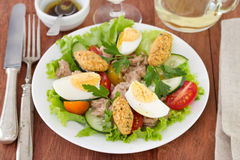 Salad with tuna Stock Image