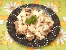 Salad of tuna fish Royalty Free Stock Photo