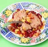 Salad with tuna fish Stock Photos