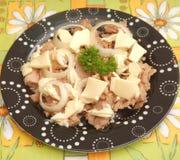 Salad of tuna fish Stock Photography