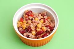 Salad with tuna fish Royalty Free Stock Photo
