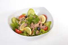 Salad with tuna fish Royalty Free Stock Photography