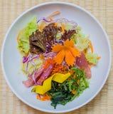 Salad tuna japanese style Stock Photos