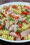 Salad with tuna and pasta Stock Image