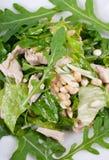 Salad with turkey Stock Photo