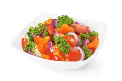 Salad vegetable Stock Image