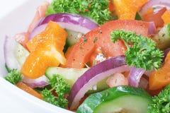 Salad vegetable Stock Photography
