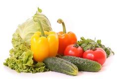 Salad vegetables royalty free stock photo