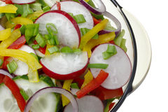Salad with vegetables. Stock Photography
