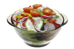 Salad with vegetables. Royalty Free Stock Photography