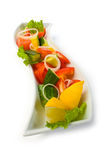 Salad of vegetables Stock Image