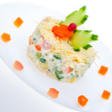 Salad of vegetables Royalty Free Stock Photo