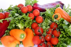 Salad Vegetables Royalty Free Stock Photos