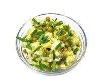Salad from vegetables Royalty Free Stock Photos