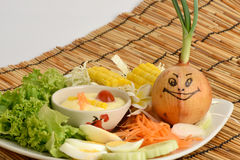 Salad vegetables, foods that are healthful. Salad vegetables, foods that are healthful, Invite onion eat vegetables for healthy stock photos