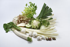 Salad vegetables and fruits Stock Photography