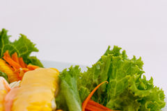 Salad vegetables Stock Photography