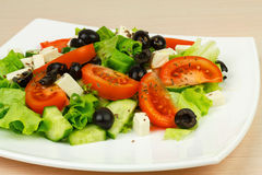 Salad with vegetables. Stock Photo