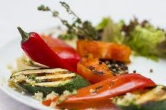 Salad vegetables Stock Image