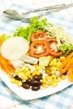 Salad for vegetarian Royalty Free Stock Photos