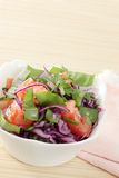 Salad from violet cabbage Royalty Free Stock Photography