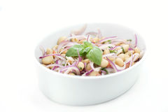 Salad with white beans, shallow DOF Stock Photos