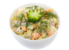 Salad With Pea Royalty Free Stock Photo