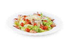 Salad With Seafood Royalty Free Stock Image