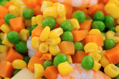 Salad With Sweet Corn Royalty Free Stock Images