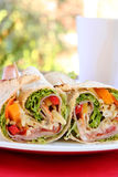 Salad Wrap Royalty Free Stock Photo