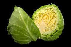 Salad young cabbage closeup Stock Photos