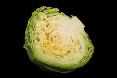 Salad young cabbage closeup Stock Images
