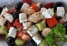 Salada útil e da vitamina Imagens de Stock