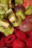 Salada 2 da fruta imagens de stock