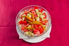 Salada 05 Foto de Stock