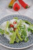 Salada asiática do macarronete Imagens de Stock